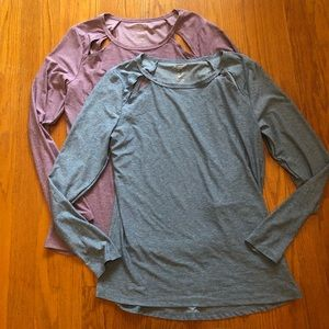 Marika Lot of 2 Athletic Tops M